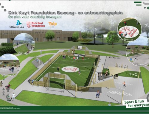 Start aanleg eerste Dirk Kuyt Foundation sportplein